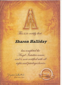 Sharon became a Certified Angel Intuitive when I attended the facilitated Doreen Virtue Angel Intuitive Workshop